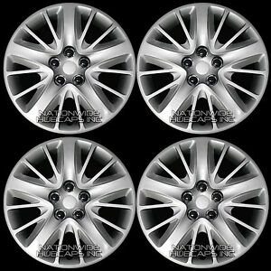 4 New 2014 15 16 17 Impala Ls 18 Bolt On Wheel Covers Hub Caps Full Rim Skins