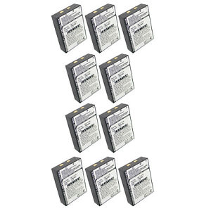 10x Two way Radio Battery Ebfrs bk71216 Replaces Bk 71216 Fast Usa Ship