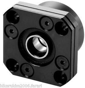 1 Set Cnc Ballscrew End Support Fk15 Fixed Ff15 Floated Side Bearing Block Mount