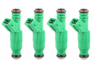 4 42lb Fuel Injectors For Audi 1 8t Bmw 1 9l Ford Chrysler 2 0l 2 3l 2 4l 440cc