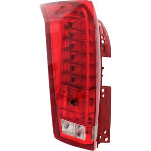 Tail Light For 2010 2016 Cadillac Srx Driver Side