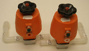 George Fischer gf 198 150 962 Valve lot Of 2