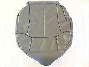 2000 2002 Tahoe suburban Leather Passenger Seat Cover M Pewter gray 922 92i