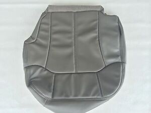 2000 2002tahoe suburban Vinyl Drivers Seat Cover Med Pewter gray 922 Or 92 i