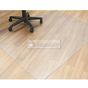 New Carpet Floor Office Computer Work Chair Mat Vinyl 80x80 Cm