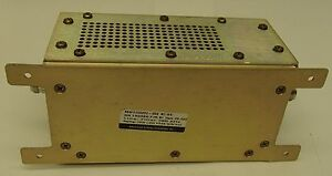 Advance Energy Rf 1kw Low Pass Filter W n Con Mn3150202 000 Line Filter 350 Khz