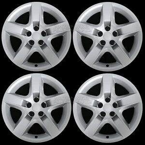 4 New 2007 13 Malibu G6 Aura 17 Bolt On Hub Caps Full 5 Spoke Rim Wheel Covers