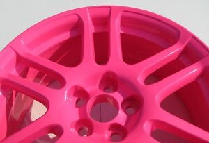 Neon Pink Powder Coating Paint New 5 Lbs Free Shipping