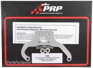 Prp 1068 Fuel Pressure Regulator Bracket Mallory Dominator Made In The Usa