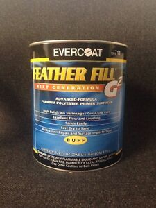 Evercoat Feather Fill G2 Polyester Primer Surfacer buff Gallon Fib 711