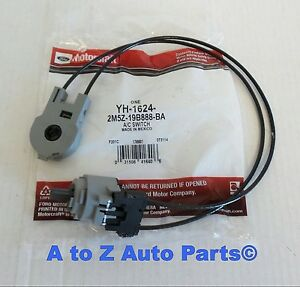 New 2003 2007 Ford Focus Dash Ac Heat Mode Selector Switch Cables Oem