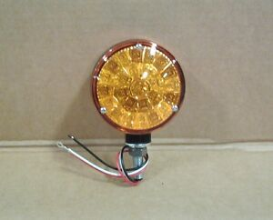 Trt 67538c92 Led Amber Flasher Light 28a43 544 656 706 856 966 1066 1456 1566