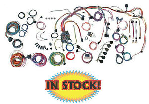 American Autowire 510360 1965 Chevy Impala Classic Update Wiring Harness