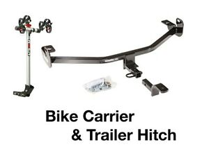 Complete 2 bike Rack Carrier Trailer Hitch 2012 2017 Ford Focus