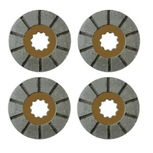 1975456c2 Set Of 4 Brake Discs For Farmall Super C 200 230 240 330 340 404