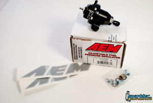 Aem Adjustable Fuel Pressure Regulator Fpr Civic Accord Prelude Integra 25 300bk