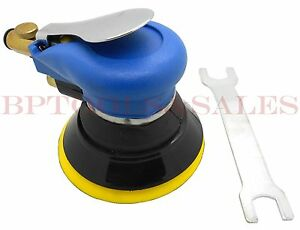 5 Palm Grip Random Orbital Sander Hd 9000rpm Sanding Pad Air Tool W Wrench New