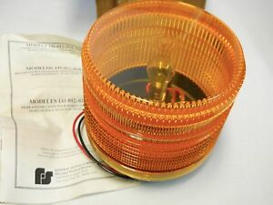 Federal Signal 141 012a Electraflash Amber Beacon 12v Dc New In Box