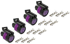 Genuine 12078090 150 Series 3 Way Connector Kit W 18 16 Awg Terminals 4 Pack