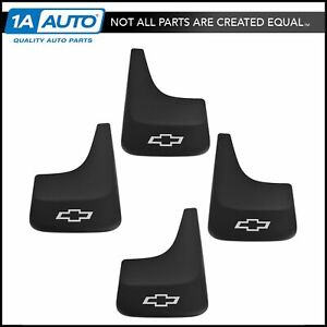 Gm Mud Flap Splash Guard Front Rear Kit Set Of 4 For Chevy Pickup Truck Suv