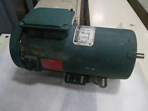 Reliance Electric 1hp Dc Motor Model T56s1013a Lot 1