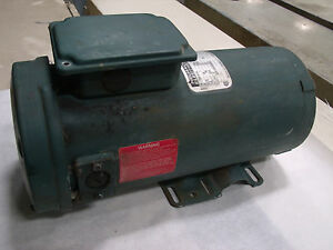 Reliance Electric 1hp Dc Motor Model T56s1013a Lot 2