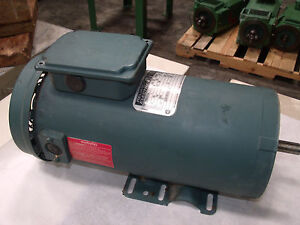 Reliance Electric 1hp Dc Motor Model T56s1013a Lot 4