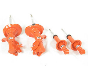 Koni Str T Orange Shocks Struts Front Rear Kit 03 05 Honda Civic Coupe Sedan