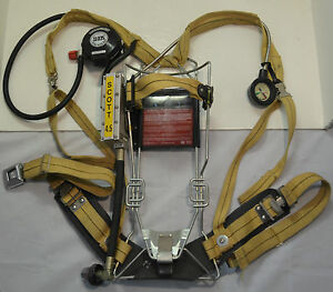 Refurbished Scott Wireframe 4 5 Scba Firefighter Air Pak Pack 1992 Ed pak Only