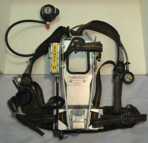 Refurbished Scott Ap50 4 5 Scba Firefighter Air Pak Pack 1992 Ed With Mask