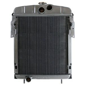 Radiator Farmall International Os4 H Super W4 Super Hv W4 Hv O4 Super H