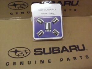 Geniune Oem Subaru Alloy Wheel Locks Pt B321sfg000