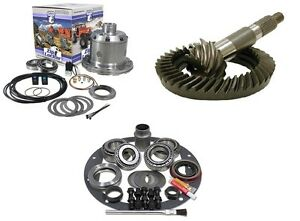 Jeep Wrangler Yj Dana 30 Yukon Air Zip Locker 4 56 Ring And Pinion Gear Pkg