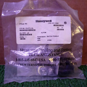 1 New Honeywell 2tl1 5l Toggle Switch make Offer