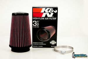 K N Universal 3 5 Air Intake Cone Filter 89mm Ru 3130 Car Truck Suv New