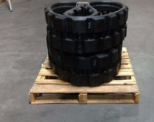1 Pair Bobcat T 180 And T190 Rubber Tracks