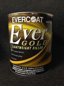Evercoat Evergold Lightweight Body Filler gallon Fib 110