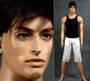 Male Mannequins Full Size Body Dressform Display Manequin Ed