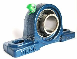 qty2 1 1 2 Pillow Block Bearings Ucp208 24 Bearings With Solid Foot P208 2v36