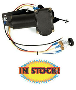 New Port Ne4753cct 1947 53 Chevy Gmc Pickup Wiper Motor W Stock Choke Cable