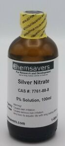 Silver Nitrate 5 Solution 100ml