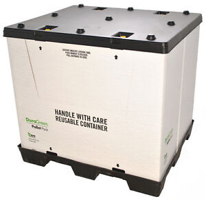 Duragreen 40 X 48 X 45 Pallet pack Container 1 Door