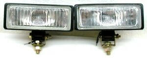 2 X5 Thin Compact 55 Watt Halogen Driving Fog Lights Truck Car Suv Atv Utv Zk