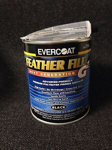 Evercoat Feather Fill G2 Polyester Primer Surfacer black Quart Fib 714