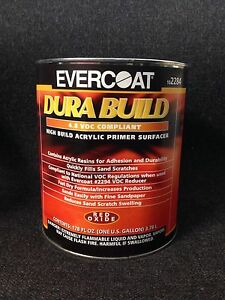 Evercoat High Build Acrylic Primer Surfacer red Oxide Fe 2284 gallon