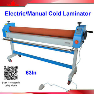 Automatic Electric Manual 63in 1600mm Large Cold Laminating Machine
