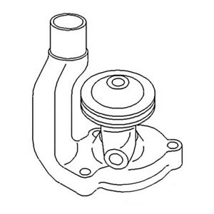 Ab4262r Water Pump Pulley Width 1 2 Made To Fit John Deere Tractor B 50