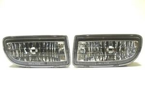 Toyota Land Cruiser Hdj100 1998 Front Bumper Fog lights Pair Right left rh lh
