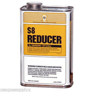 Magnet Paint S8 04 Chassis Saver Frame Paint Thinner S8 Reducer 1 Quart