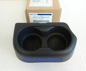 New 2005 2011 Ford Ranger Front Split Bench Center Seat Cup Holder Oem Ford